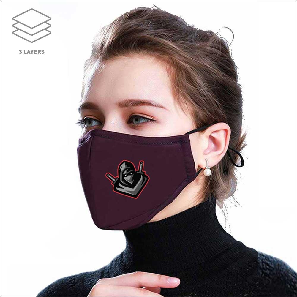 Nose Curve Cotton Mask